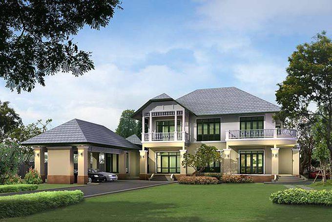 Ngắm 20 mẫu biệt thự nhà vườn 1-2 tầng đẹp mới nhất 2018 - Ảnh sưu tầm 18