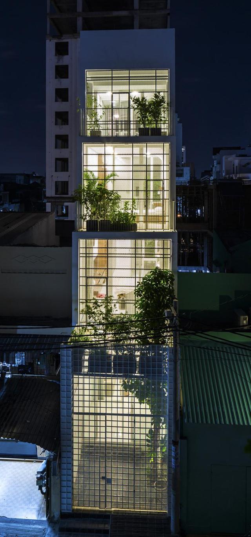 Phối cảnh kiến trúc - Nhà phố 4 tầng 3,5x12m thoáng mát với thiết kế thông minh
