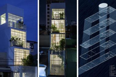 Nhà phố 4 tầng 3,5x12m thoáng mát với thiết kế thông minh