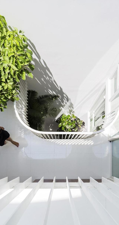 Nhà phố 4 tầng 3,5x12m thoáng mát với thiết kế thông minh - Không gian trong nhà 02