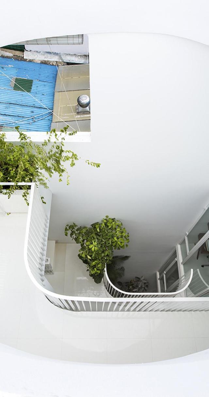 Nhà phố 4 tầng 3,5x12m thoáng mát với thiết kế thông minh - Không gian trong nhà 03