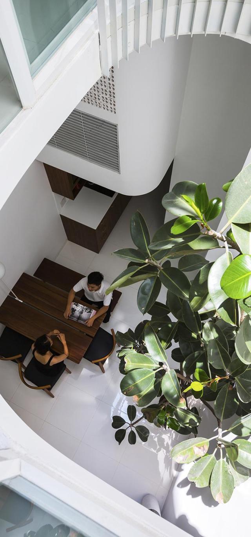 Nhà phố 4 tầng 3,5x12m thoáng mát với thiết kế thông minh - Không gian trong nhà 04