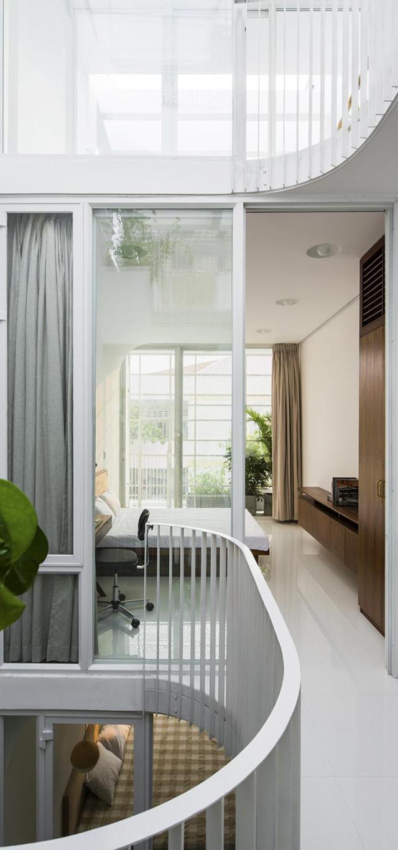 Nhà phố 4 tầng 3,5x12m thoáng mát với thiết kế thông minh - Không gian trong nhà 06