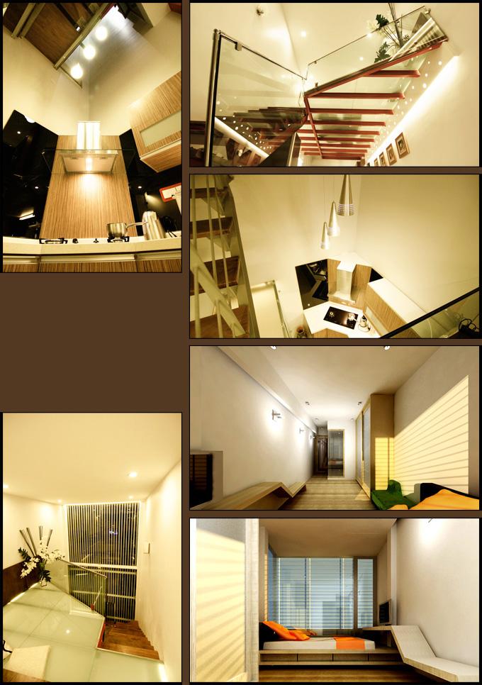 Nhà phố 2 tầng 3x10m thông thoáng với không gian thông minh - Các không gian nội thất