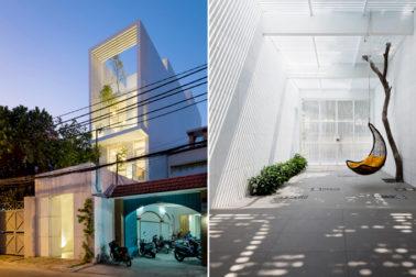 Hình ảnh mặt tiền - Nhà phố 4 tầng 3,8x40m cho gia đình 3 thế hệ 9 người
