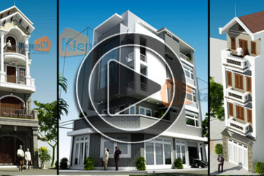 Video tổng hợp 69 mẫu nhà phố đẹp 2 3 4 5 tầng