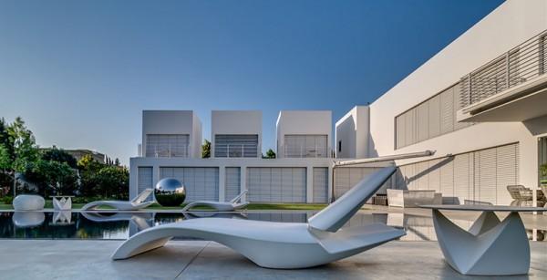 Choáng ngợp với căn biệt thự hiện đại 2 tầng như trong phim viễn tưởng Hollywood - Không gian kiến trúc 04