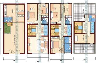 Tham khảo cách chia công năng nhà phố kết hợp kinh doanh 4 tầng 6x11m