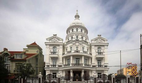 Chiêm ngưỡng 16 mẫu biệt thự cổ điển kiểu Pháp, Châu Âu đẹp đẳng cấp - Mẫu 12