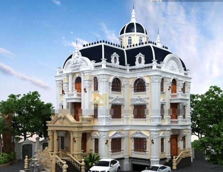 Chiêm ngưỡng 16 mẫu biệt thự cổ điển kiểu Pháp, Châu Âu đẹp đẳng cấp - Mẫu 15
