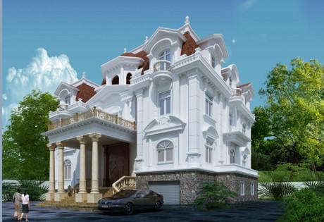 Chiêm ngưỡng 16 mẫu biệt thự cổ điển kiểu Pháp, Châu Âu đẹp đẳng cấp - Mẫu 07