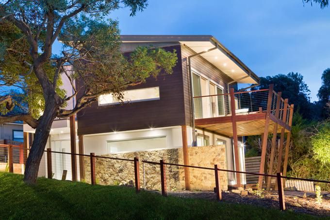 Mẫu biệt thự 2 tầng 13,7x14m hiện đại tại sườn đồi - Hình ảnh kiến trúc 03