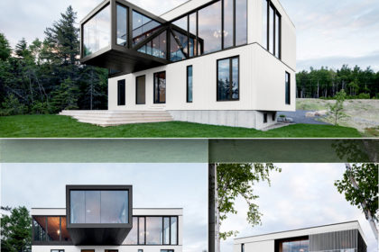 Ngắm nhìn thiết kế độc đáo của mẫu biệt thự 2 tầng hiện đại hình khối đúc hẫng lạ mắt - Hình ảnh các góc kiến trúc