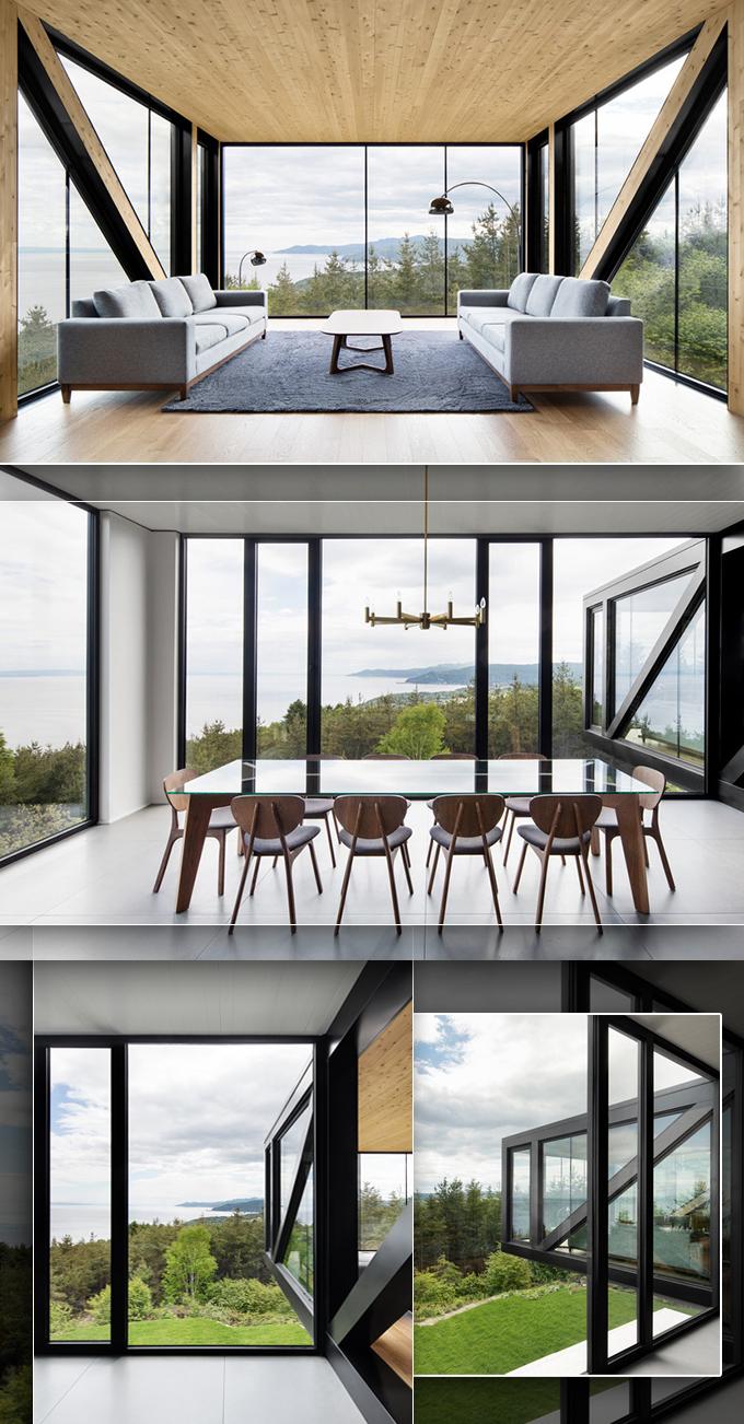 Ngắm nhìn thiết kế độc đáo của mẫu biệt thự 2 tầng hiện đại hình khối đúc hẫng lạ mắt - Không gian nội thất và góc view