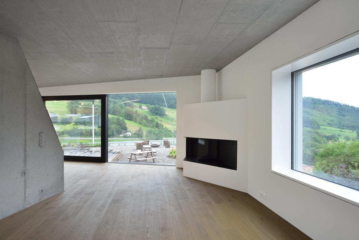 Chiêm ngưỡng mẫu nhà đẹp tối giản Duplexhouse tại Thụy Sĩ - 07