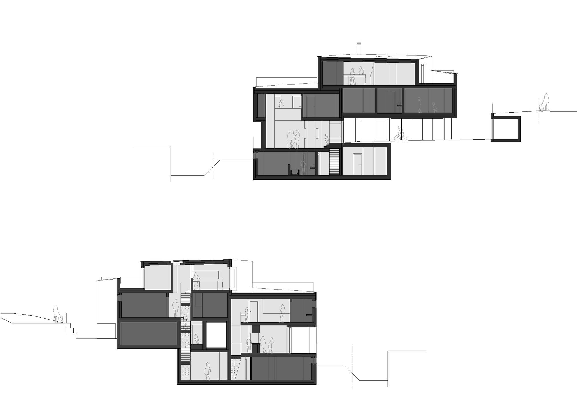 Chiêm ngưỡng mẫu nhà đẹp tối giản Duplexhouse tại Thụy Sĩ - 05