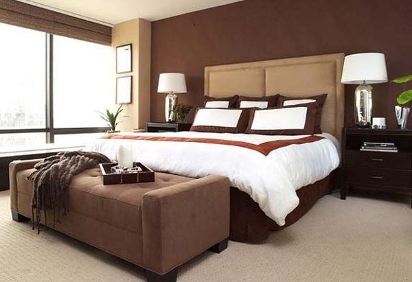 Màu chocolate cho không gian nhà đẹp