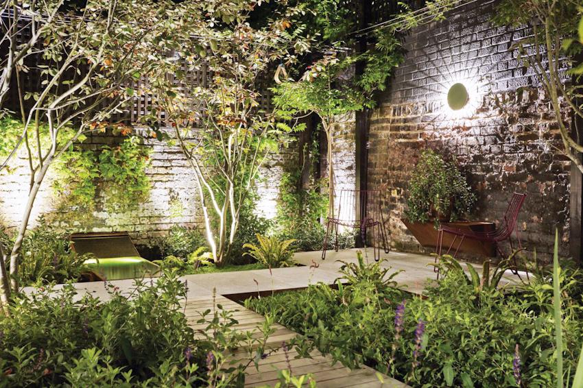 Hướng sân vườn - Mẫu biệt thự nhà vườn