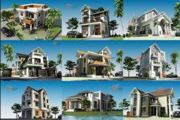Ý tưởng xây dựng nhà biệt thự 3 tầng