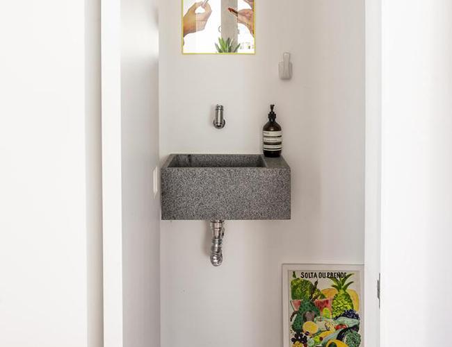 Mẫu biệt thự đẹp 2 tầng - Phòng tắm nhỏ xinh