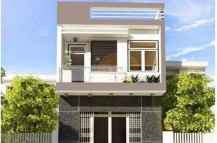 Mẫu nhà phố 2 tầng đơn giản 2