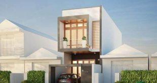 Phối cảnh tham khảo thiết kế nhà phố 2 tầng 3.7x14m