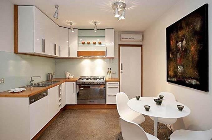 Phối cảnh phòng bếp tham khảo - Mẫu nhà phố 2 tầng 4.3x13m