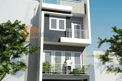 Mẫu thiết kế nhà phố 3 tầng tại Ba