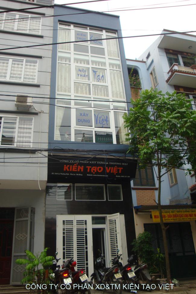 Trụ sở chính Kiến Tạo Việt - Số 19 Lý Thường Kiệt, Phú La, Hà Đông, Hà Nội