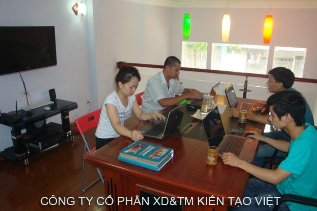 Phòng quảng cáo, marketing, chăm sóc khách hàng - Kiến Tạo Việt