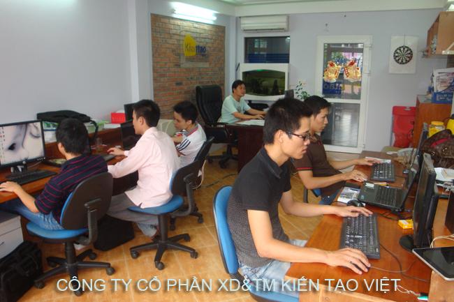 Phòng thiết kế, design kiến trúc, nội thất, cảnh quan - Kiến Tạo Việt - 1