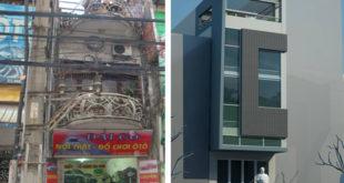 Cải tạo nhà phố 4 tầng 4x15m kết hợp kinh doanh ở Giải Phóng – Hiện trạng & Phối cảnh cải tạo