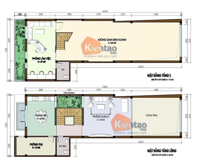 MB1 - Nhà phố 3 tầng 5x20m tại Hà Đông