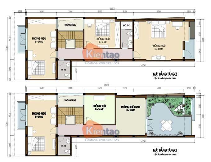 MB2 - Nhà phố 3 tầng 5x20m tại Hà Đông