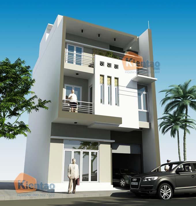 PC nhà phố 3 tầng mặt tiền 7m tại Hòa Bình - NP20