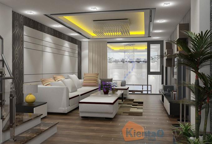 Thiết kế nhà phố 3 tầng 1 lửng 4.1x24m tại Hải Phòng - Nội thất 02 - NP39