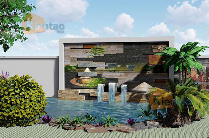 Mẫu nhà vườn 1.5 tầng 56m2 trong khu đất 500m2 tại Đồng Nai - PC Sân vườn 04